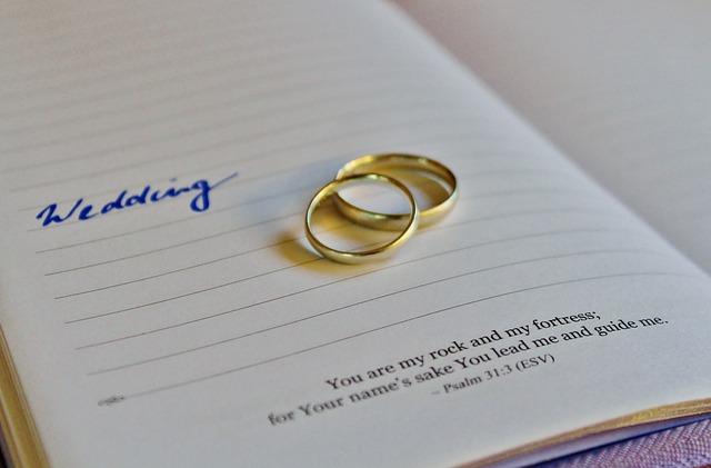 Prsteny snoubenců